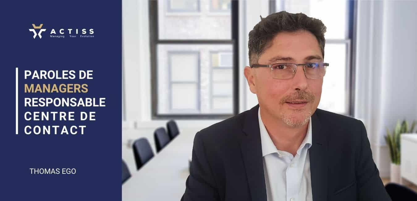 Manager de transition chez Actiss, Thomas Ego